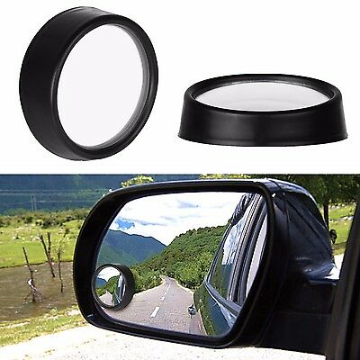 2x Car Rear View Mirror Wide Angle Blind Spot Safety Convex Parking Mirrors