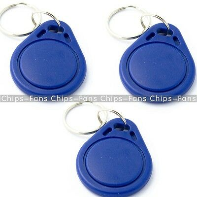 50PCS RFID IC Key Tags Keyfobs Token NFC TAG Keychain 13.56MHz for Arduino CF
