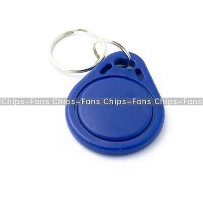 100PCS RFID IC Keyfobs Key Tags Token NFC TAG Keychain 13.56MHz for Arduino CF