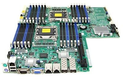 Supermicro SuperServer SYS-6017R-WTRFTP+ Motherboard Dual Socket 2011