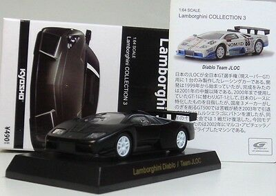 kyosho 1:64 Lamborghini Diablo/Team JLOC Diecasts model car