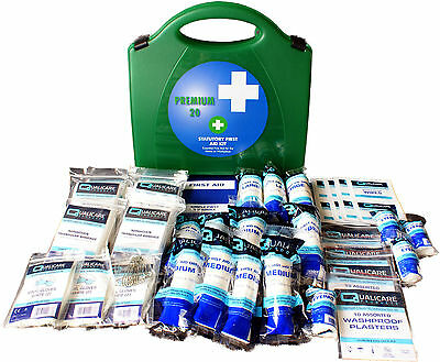 Qualicare First Aid Kit Premier HSE 1-20 Person-Workplace, Home, Travel, Office