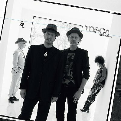 TOSCA - Outta here - 2 VINYL LP + CD, mint, sealed NEU + OVP!