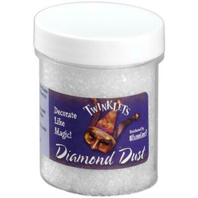 Twinklets Diamond Dust 85gms finely ground glass, that gives that extra sparkle!