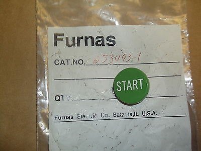 "Furnas 253493-1 ""START"" Button Cover Cap Switch *FREE SHIPPING*"