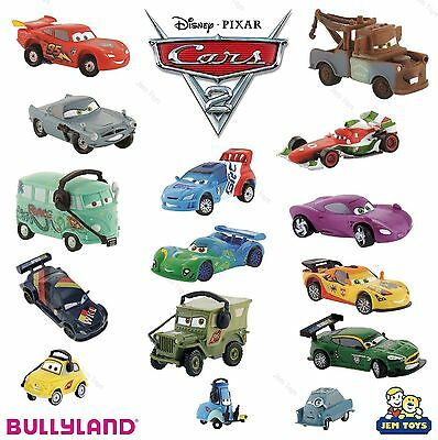 BULLYLAND FIGURES/TOYS/CAKE TOPPERS - Disney Cars