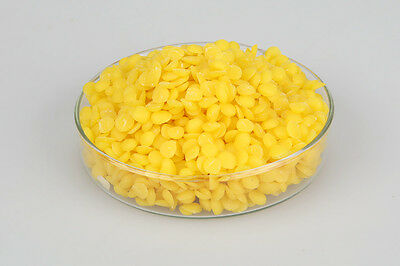 Beeswax Pellets Beads Yellow 500g - Naturally Fragrant Beeswax