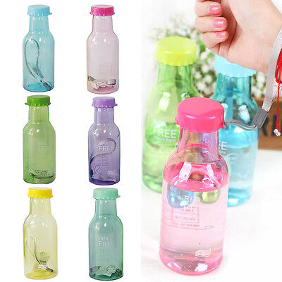 Travel Water Bottle Colorful 350ML  Leak-proof Cycling Cup  Unbreakable