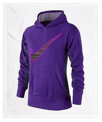 Nike Youth Therma-Fit Pullover Hoodie Sweat Shirt Medium (10-12) Nwt