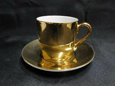 Gold Demitasse or Espresso Cup and Saucer Set (s)
