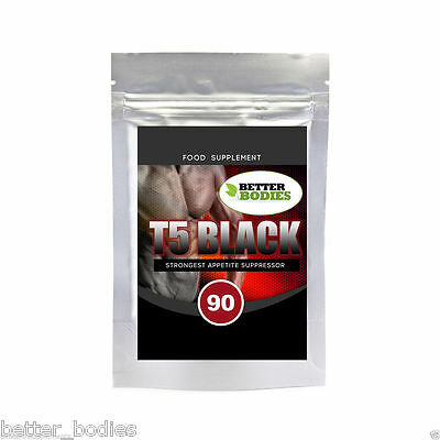 T5 T8 Black Extra Strong Fat Burning Pills  Fat Burners Weight Loss Slimming