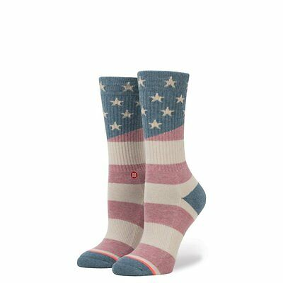 NEW Womens Stance Miss Independent Socks in Natural Size Small (5-7.5)