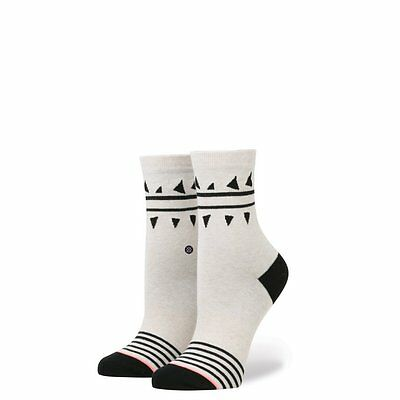 NEW Womens Stance Chompers Anklet Socks in Natural Size Small (5-7.5)