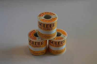 """APEX Solder Wire 0.8mm (.031"""") 60/40 Solder Wire 1 LB & FREE SHIPPING!"""