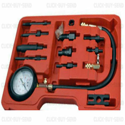Professional Diesel Engine Compression Tester Kit Direct Indirect Dual Scale New