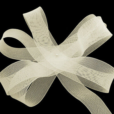 "Vanilla Horsehair Braid 4 yards Piece  4/"" Crinoline Trim 10 cm"