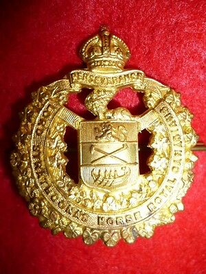 Lord Strathcona's Horse OR's Cap Badge KC - Canada WW2