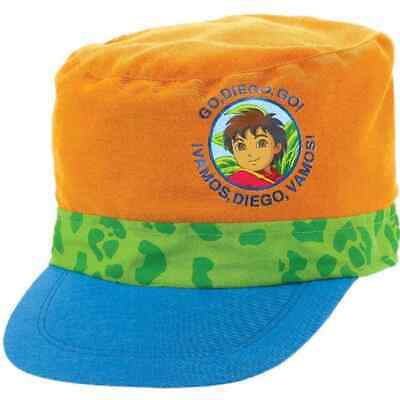 7889ed6b41628 Diego s Biggest Rescue Go Diego Birthday Party Favor Deluxe Baseball Cap Hat