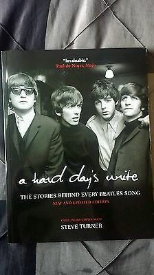 The Beatles A HARD DAYS WRITE soft cover