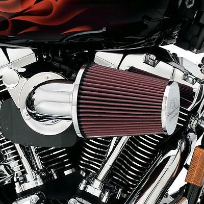 Harley-Davidson Screamin Eagle Heavy Breather Air Filter Kit CHROME - Dyna/Softa