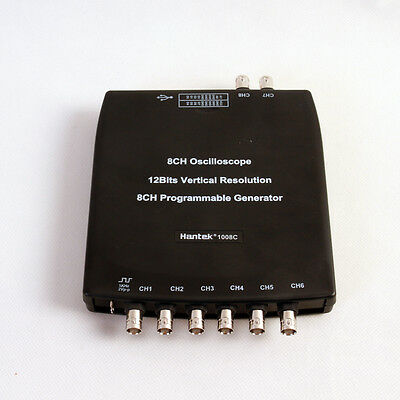 Hantek 1008C 8CH USB Auto Scope/DAQ/8CH Programmable Generator vehicle testing