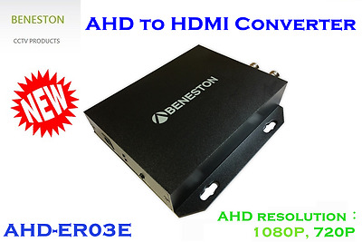 AHD to HDMI Converter with Up Down Scaling / CCTV / 720P,1080P Input Support