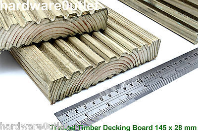 Decking Treated Timber Decking 145 x 28 Pressure Treated Best Quality Timber