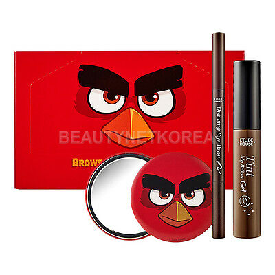 [ETUDE HOUSE] Angry Birds Brows Quick Make Up Set / Korea cosmetic