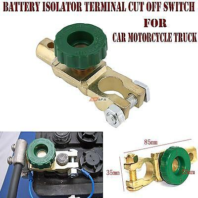 Car Motorcycle TRUCK CARAVAN Battery ISOLATOR TERMINAL CUT OFF KILL SWITCH
