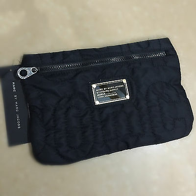New Arrival! Hot Marc by Marc Jacobs nylon casual fashion Black cosmetic bag