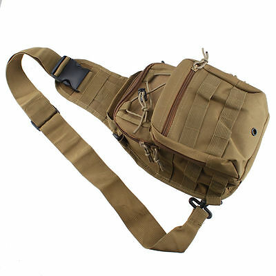 Outdoor Military Tactical Backpack Camping Travel Hiking Trekking Shoulder Bag