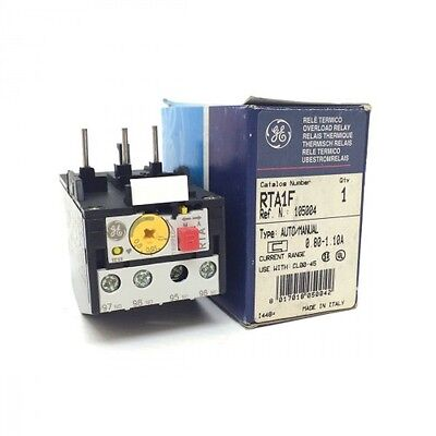 Overload Relay 105004 GE 0.80-1.10A RTA1F