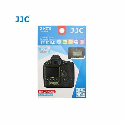 JJC LCP-1DXM2 LCD Screen Protector Guard Film Cover for Canon 1Dx Mark II Camera