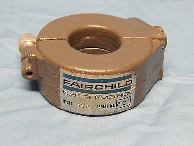 Fairchild PCL-25 RF Current Clamp 9KHz to 110MHz 300 Amps Max