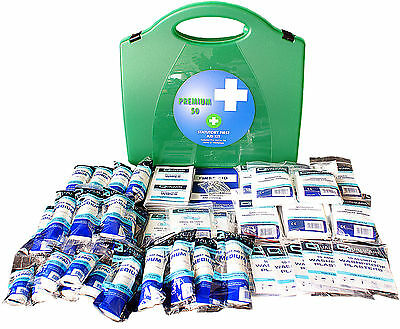 Qualicare First Aid Kit Premier HSE 1-50 Person-Workplace, Home, Travel, Office