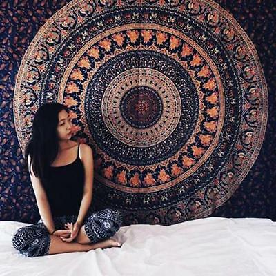 Twin Hippie Indian Decor Mandala Tapestry Wall Hanging Throw Bohemian Bedspread