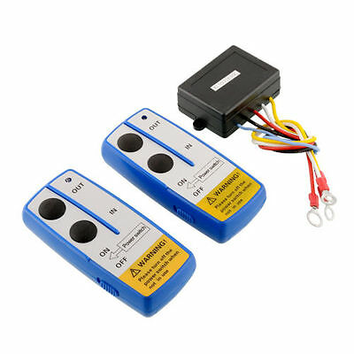 Wireless Electric Winch 12V DC Remote Control Handset For Truck SUV - UK