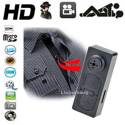 Bouton Camera Espion Max Audio Photo Video Dvr Gb Spy • 1280 X 960P • 32Go Max •