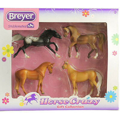 Breyer Stablemates Horse Crazy Set