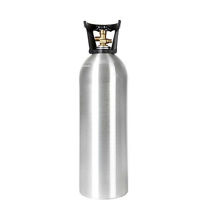 20 lb New Aluminum CO2 Tank CGA 320 Valve Homebrew Draft Beer, Soda or Tea