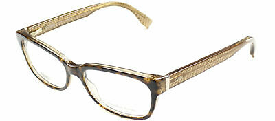 c093afc573 Authentic Fendi FF 0004 7PL Havana Brown Yellow Plastic Eyeglasses