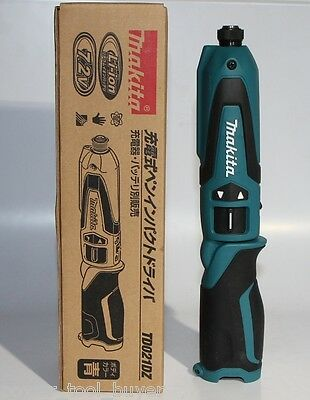 Makita TD021DZ Cordless Rechargeable 7.2V Pen Impact Driver Tool Only Japan