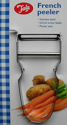 Tala French Peeler for Vegetables Potato Eyer Stainless Steel Kitchen Utensil