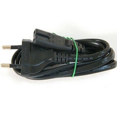 2X0.75mm EU power cord cable Figure 8 C7 to EU European 2pin AC power cable 0.9M
