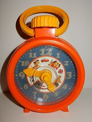 Matchbox 1972 Live'n Learn Rhyme Time Clock  **RARE**
