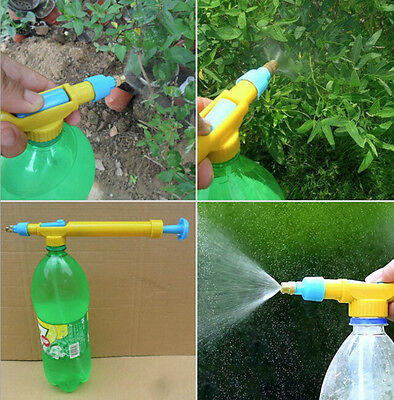 Spread PET Bottle Plant Portable Pump Sprayer Gardening Handheld Watering Can