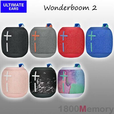 Ultimate Ears Wonderboom 2 Wireless Bluetooh Speaker Waterproof IP67 UE Logitech