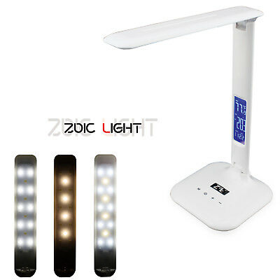LED Touch Screen Desk Lamp Light Foldable Table Lamp Eye-Protection  UK LOCAL