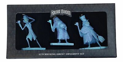 Disney Parks Haunted Mansion Hitchhiking Ghosts Ornament Set Gus Ezra Phineas