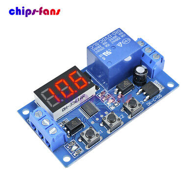 12V LED Automation Delay Timer Control Switch Relay Module without Case CF